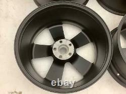 07-10 Dodge Charger/Challenger/300 SRT8 20 Black Powder Coated Wheel Set (4)
