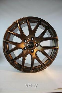 18 Miro 111 Wheels 18x9.5 Set of 4 Powder Coated Cappuccino
