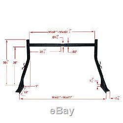 1 Set Pickup Truck Utility Ladder Rack Steel Universal for Ford GMC