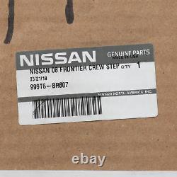 2005-2019 Nissan Frontier Side Steps STEP RAILS Crew Cab (2-pc set) GENUINE OEM