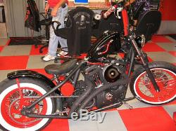 2008-2017 Harley Sportster Nightster Powder Coated 40 Spoke Wheel Set 16 &19