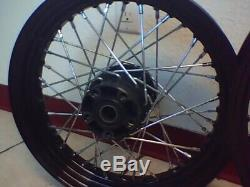 2008-2017 Sportster IRON 883 Wheel Set 16 and 19 Powder Coated Special Order