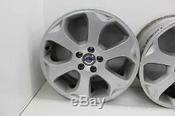 2009 VOLVO XC60 Set of 4 Alloy Wheels 17 6 Double spoke silver