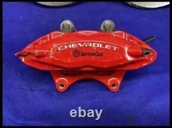 2010-2015 Chevrolet Camaro L1E SS Red Powder Coat Brembo Brake Caliper Set