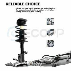 2 Front Quick Strut Spring For Toyota Corolla 1.8L 2003 2004 2005 2006 2007 2008
