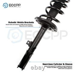 2 Quick Rear Complete Struts & Springs with Mounts Pair for 2007-2012 Lexus ES350