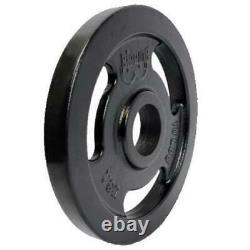 335LB 2 Olympic Weight Plate Set, Powder Coated Plates, 100% American Made