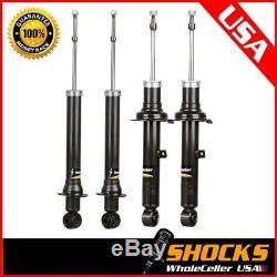 341262 341263 (4) Front & Rear Full Set Shocks Struts For Lexus IS300 2001-2003