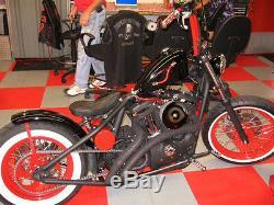 40 Spoke 16 & 21 Harley Sportster Nightster Custom Wheel Set Powder Coated