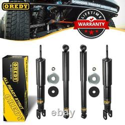 (4) Front Rear Set Shocks Strut 344381 344384 For Chevy Avalanche 1500 4WD 02-06