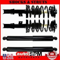 4pcs Set Complete Struts & Shock Absorber for 2008 2009 2010 Saturn Vue 4WD