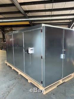 6x6x12 Gas Powder Coating Batch Oven Curing Oven Painting Equipment Materials