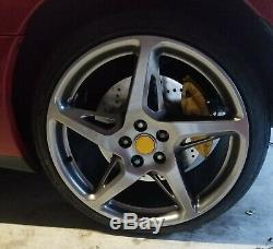 93-98 Toyota Supra MK4 JZ80 Brembo Brake Calipers Adapters Plate Front Rear Set