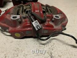 Alfa Romeo Giulia Red 4pot Brembo Brake Calipers Set Pads Italy
