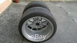 Alloy wheels Japan Racing JR5 17 x 9.5 silver powder coat set of 2