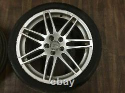 Audi Ttrs 8j Mk2 Tts Rs4 Genuine 19 Alloy Wheel Set Genuine Speedline 9j 5x112