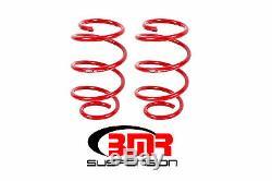 BMR Suspension SP080, Lowering Springs, Set Of 4, Performance, 2015 2019