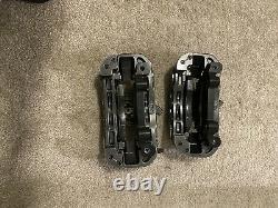 BMW 135i E82 Brembo Front ONLY Brake Caliper Set Driver Passenger E46 Brackets