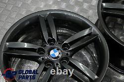 BMW 1 Series E81 E87 Grey Complete Set 4x Wheel Alloy Rim 18 M double Spoke 208
