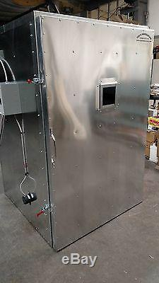 Batch powder coat coating electric curing oven NEW DELUXE cerakote lead time exi