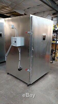 Batch powder coat coating electric curing oven NEW DELUX model lead time exist