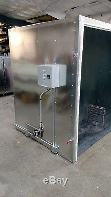 Batch powder coating electric curing oven NEW 4x4x6 internal lead time exist