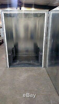 Batch powder coating electric curing oven NEW 4x5x6 lead time exist