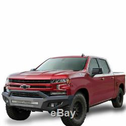 Black Horse for 19-20 silverado 1500 steel armour front bumper Full set AFB-SI19