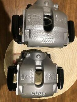 Bmw E46 M3 Set Of Front Brake Calipers And Carriers Refurbished Powder Coated