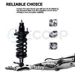 Both (4) Quick Complete Struts Assembly Spring Absorber For 2007-11 Honda CR-V