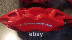 C7 CORVETTE. Z51 POWDER COATED BRAKE CALIPERS set of 4, 2014,15,16,17,18
