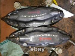 Complete Brembo Caliper Set With Rotors Vin J Opt L99 2010-2015 Camaro 334098