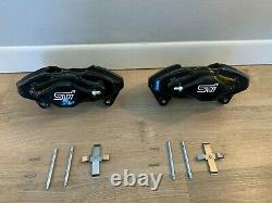 Fits 2008-2017 Subaru Impreza WRX STI Rear Brake Caliper Set Calipers 08-17