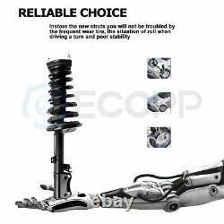 Fits 97 98 99 00 01 02 03 Toyota Avalon Front + Rear Struts & Coil Spring Shocks