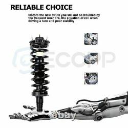 For 02-09 Chevrolet Trailblazer Front Struts with Spring & Rear Shocks Absorber