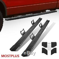 For 15-20 Ford F150 Crew CAB Nerf Bars Running Board Side Step Set of 2