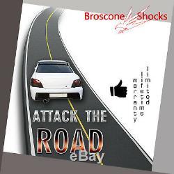 For 1998 1999 2000 2001 2002 Mazda 626 Full Set Shocks Struts