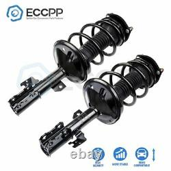 For 2002-03 Toyota Camry Front (2) Complete Struts Shocks & Coil Spring Assembly