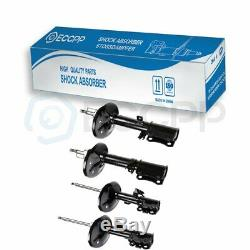 For 2002 2003 Toyota Camry FWD Full Set of 4 Front Rear Shocks Struts Assembly