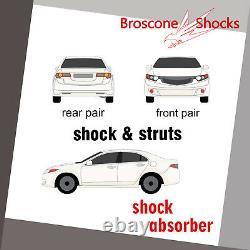 For 2003 2004 2005 2006 Acura MDX Full Set Shocks Struts