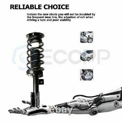 For 2005-2006 Chevrolet Equinox Full (4) Front Complete Struts + Rear Gas Shocks