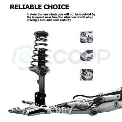 For 2005-2010 Kia Sportage (2) Rear Complete Struts withCoil Spring Mount Assembly