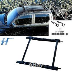 For 2005-2018 Toyota Tacoma Double Cab Factory Roof Rack Cross Bars Set USA
