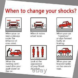 For 2007 2008 2009 Ford Edge Lincoln MKX Full Set Shocks Struts