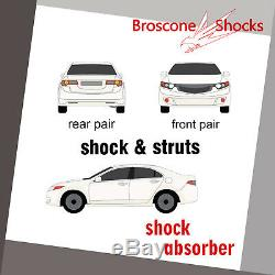 For Dodge Avenger 08 09 10 11 12 13 14 Full Set Shocks & Struts