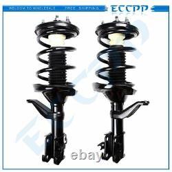 For Honda CR-V 2.4L 02-06 Quick-Strut Complete Shocks Spring Suspension Front ×2