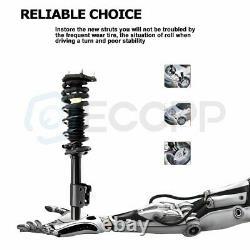 For Malibu Grand Am Alero Cutlass Front & Rear Struts Shocks & Springs Assembly