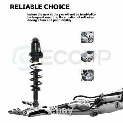 For Toyota Prius 2004-2009 Rear Pair Quick-Strut Complete Struts & Coil Springs
