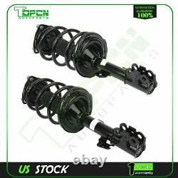 Front Pair Loaded Shocks Struts & Coil Spring Set For Toyota Sienna 2011-2014