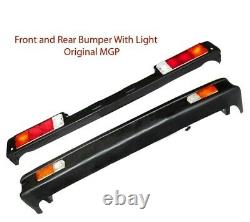 Front & Rear Bumper Set With Lights Suzuki Samurai SJ413 410 Sierra Drover Jimny